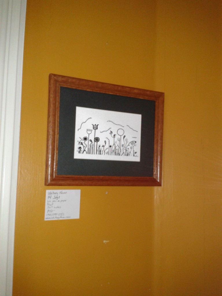 "Wentworth Perk art show ""14 Joys"""