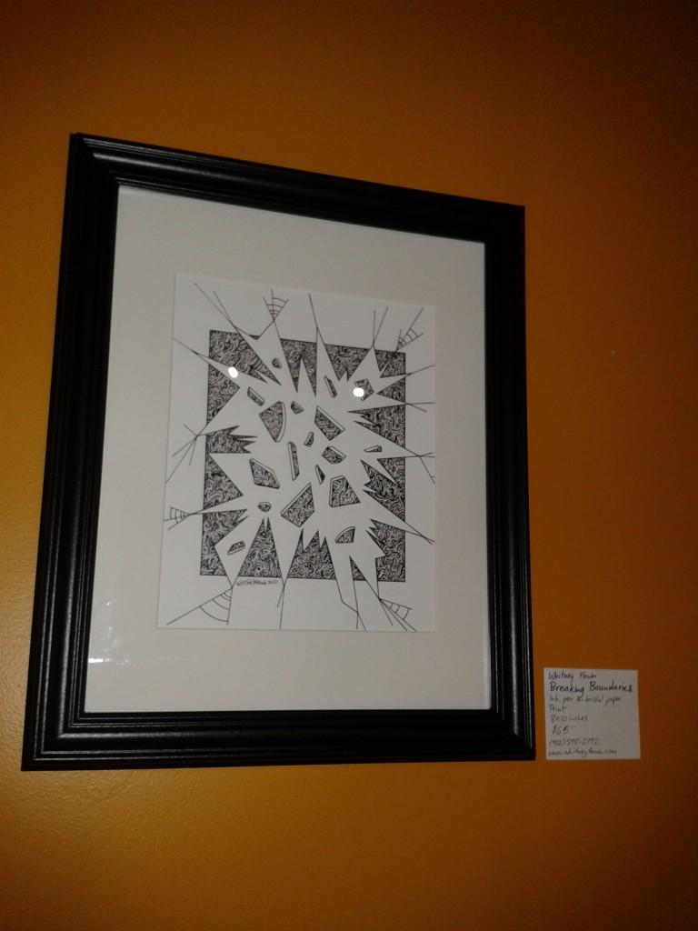 "Wentworth Perk art show ""Breaking Boundaries"""