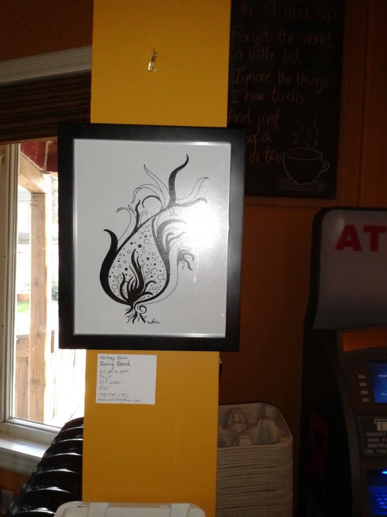 """Wentworth Perk art show """"Roving Reach"""""""