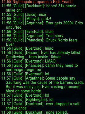 Legendary Ever guild chat 1