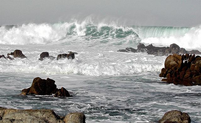 Asilomar surf photo by David McSpadden
