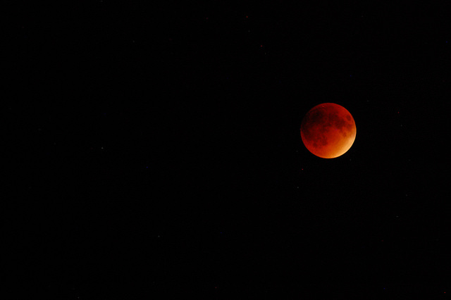 Lunar Eclipse 2015 photo by Penny Higgins