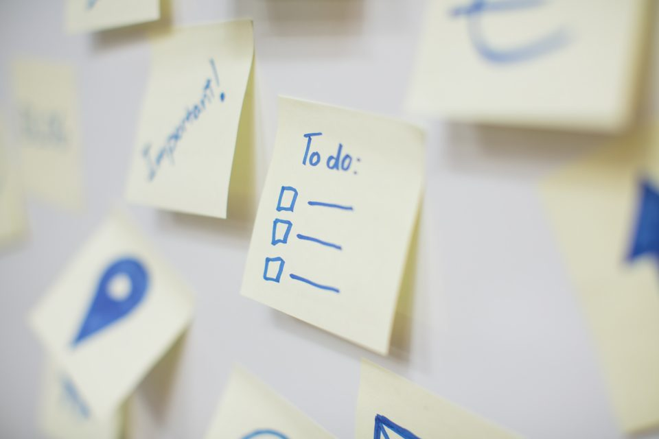 Sticky Notes To-Do List photo by sue seecof