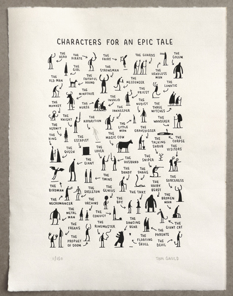 Drawing by Tom Gauld
