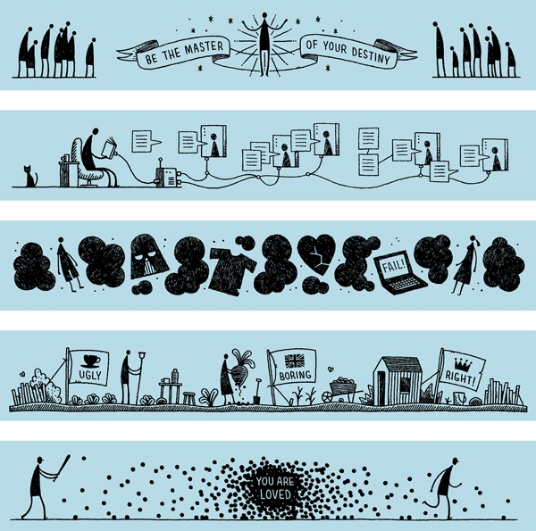 NYT Weeklies by Tom Gauld