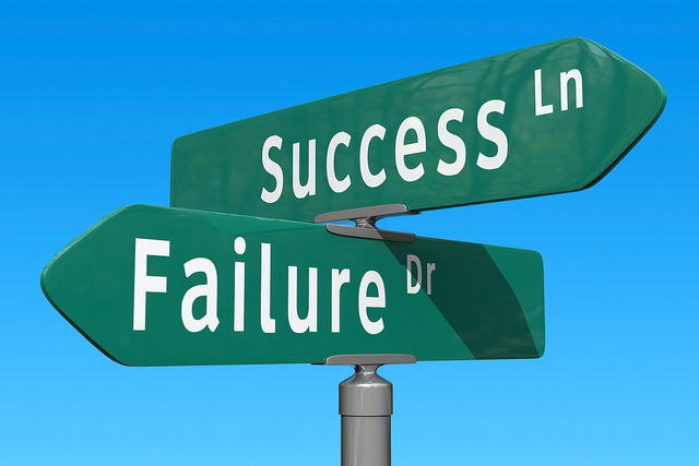 Success or Failure photo by Chris Potter