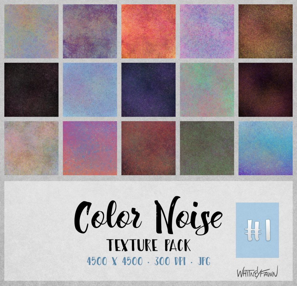 Color Noise Pack 1 by WhitneyFawn