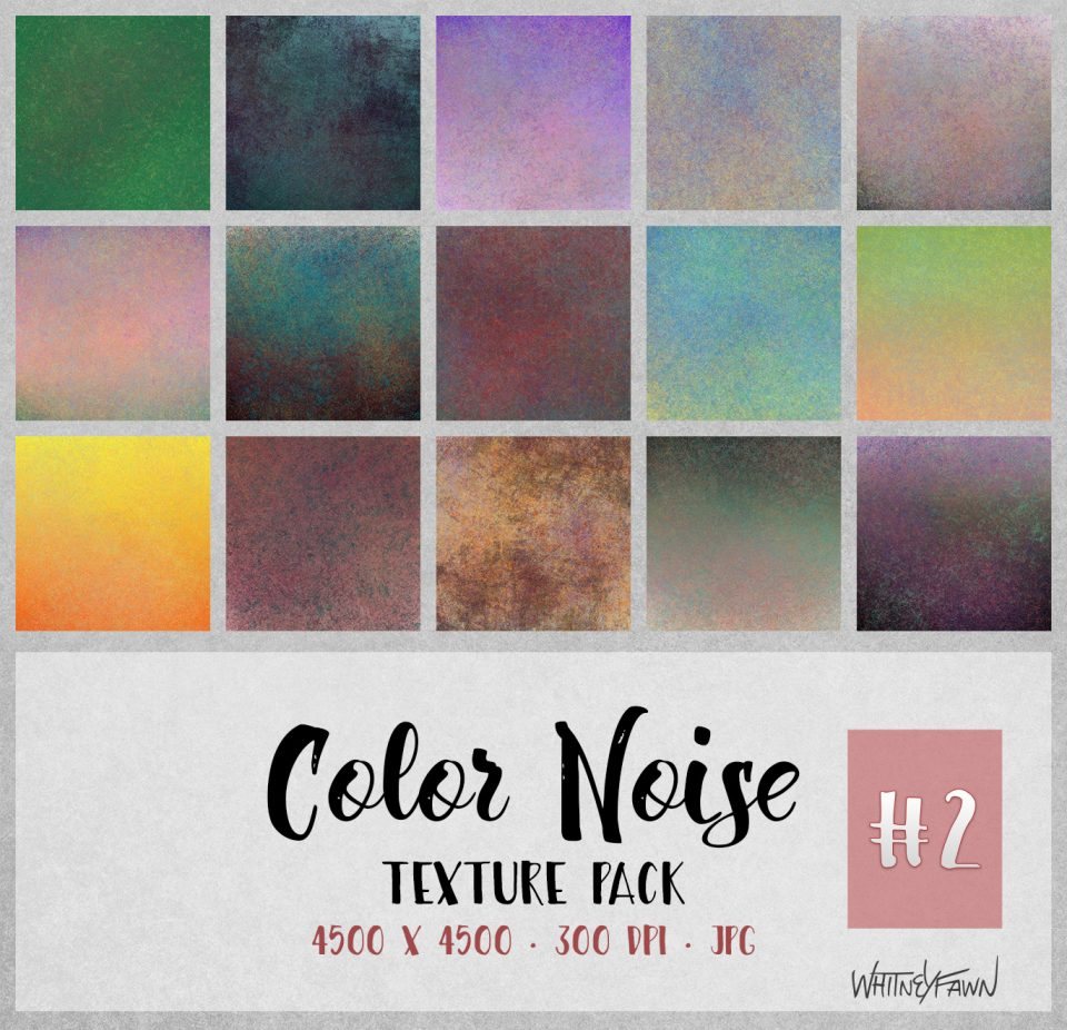 Color Noise Pack 2 by WhitneyFawn