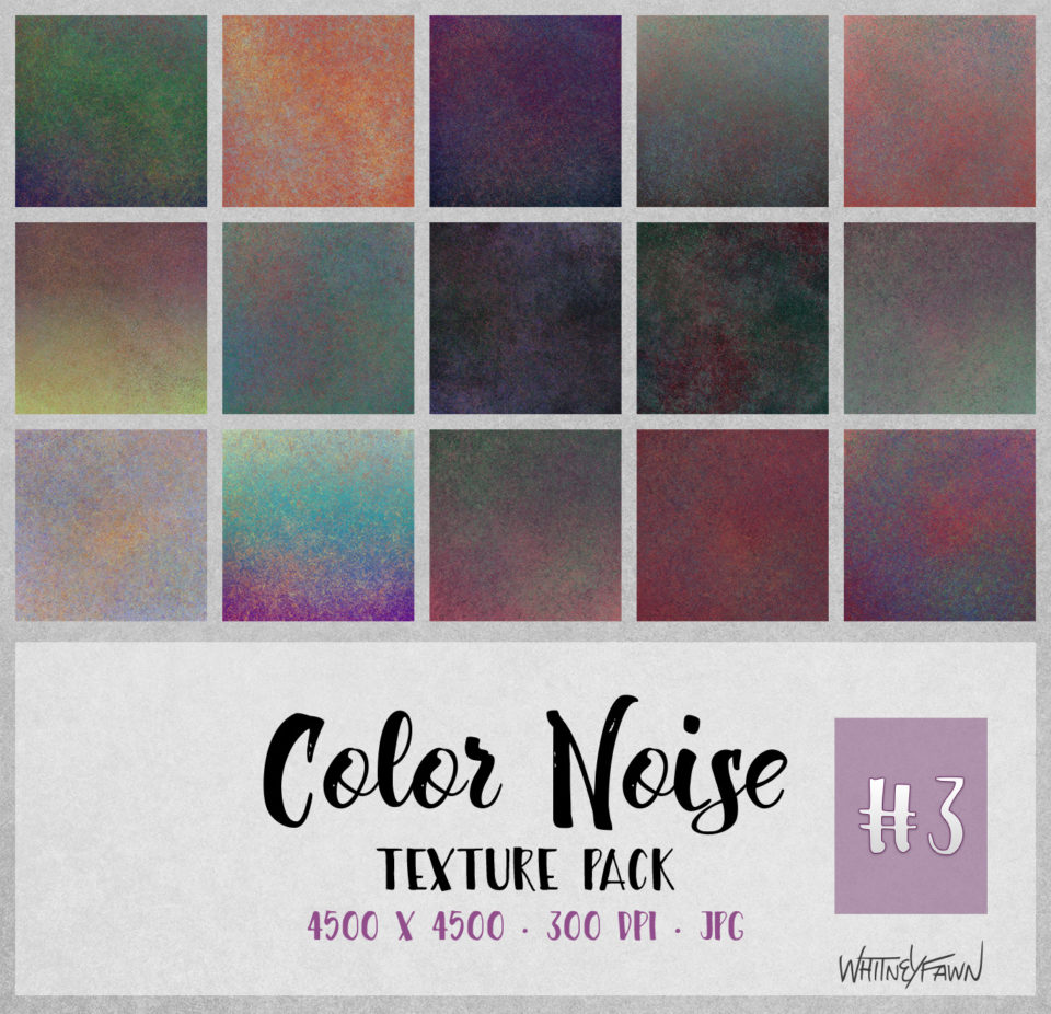 Color Noise Pack 3 by WhitneyFawn