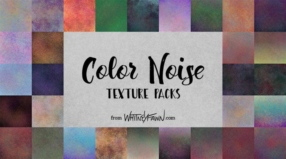 Color Noise Texture Packs by WhitneyFawn