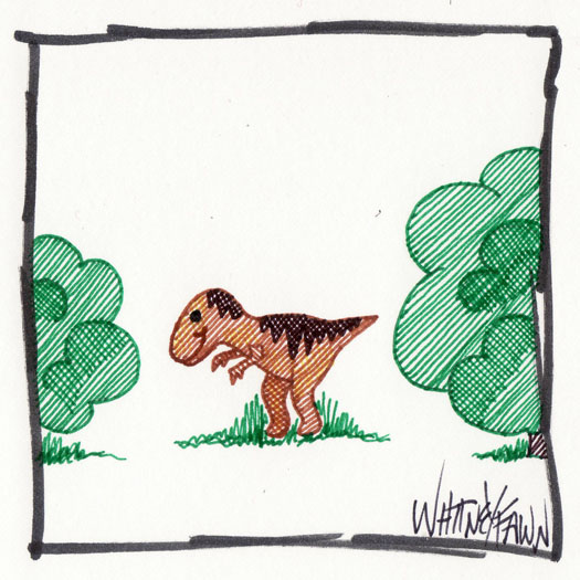 Day 15 - Tiny Dinosaur