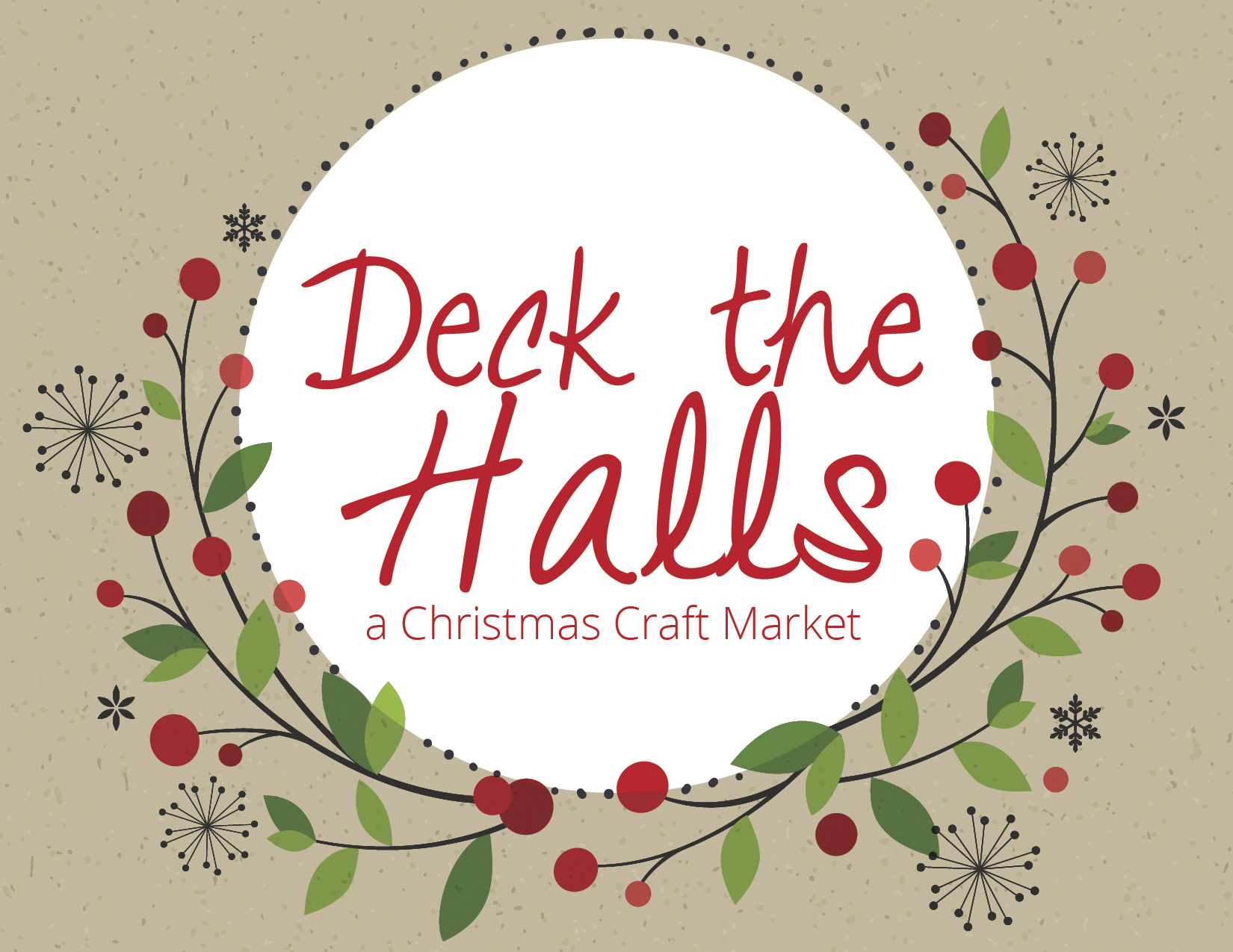 Event: Deck The Halls, A Christmas Craft Market