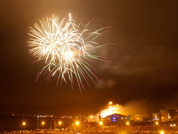 Sydney Fireworks, Aug 2012. Photo by me.