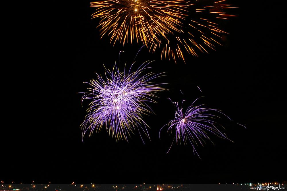 Sydney Fireworks Aug 11, 2013