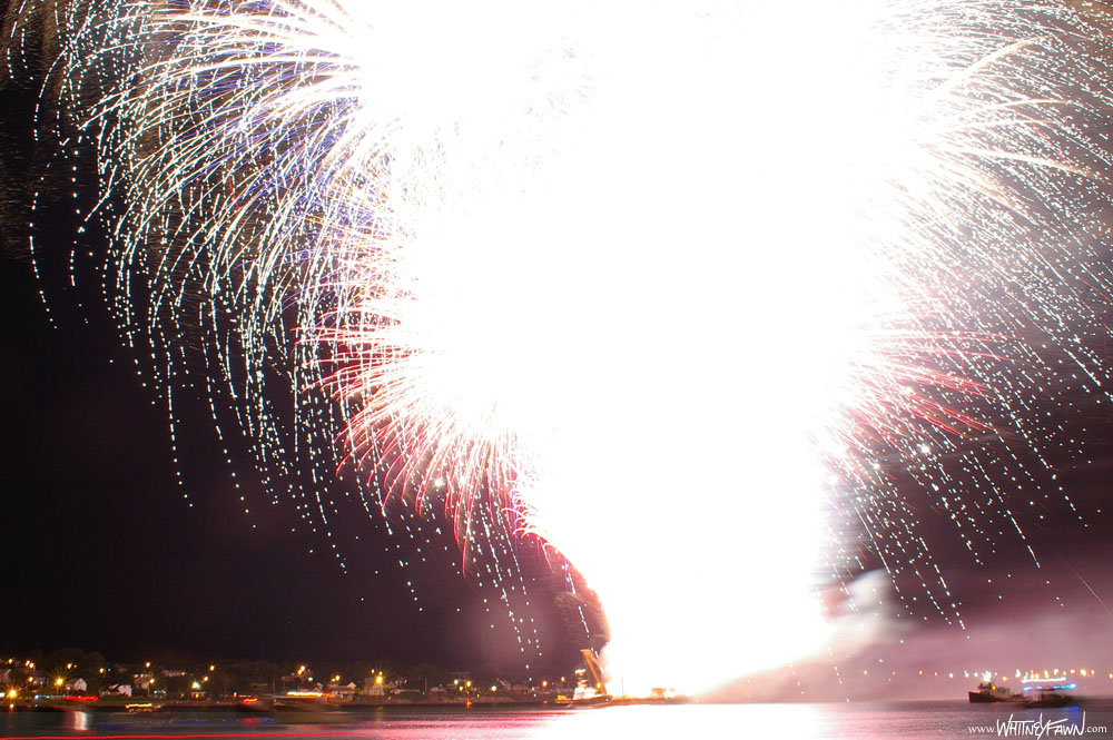 Sydney Fireworks Aug 11, 2013 Finale
