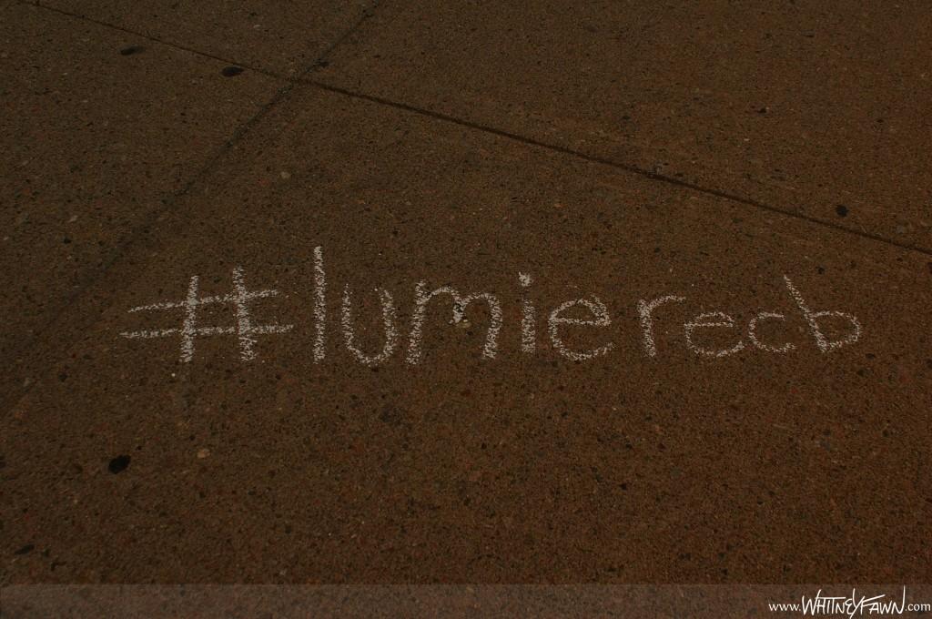 Lumiere hashtag