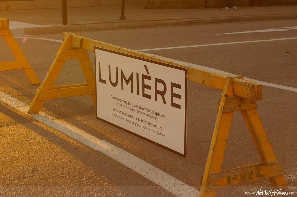 Lumiere sawhorse