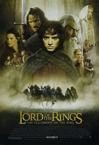 Movie poster for The Lord of the Rings