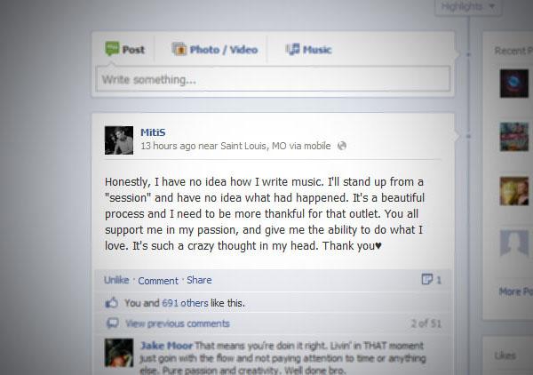 MitiS's Facebook status