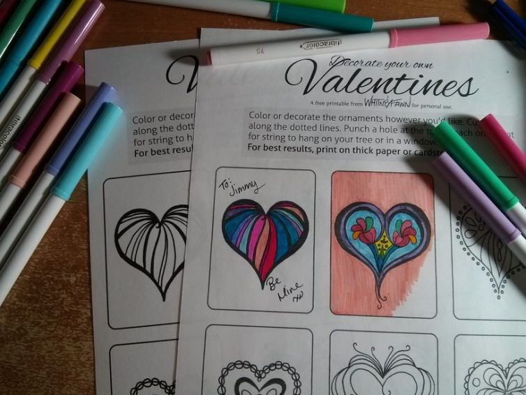 Free Download: Valentine's printable