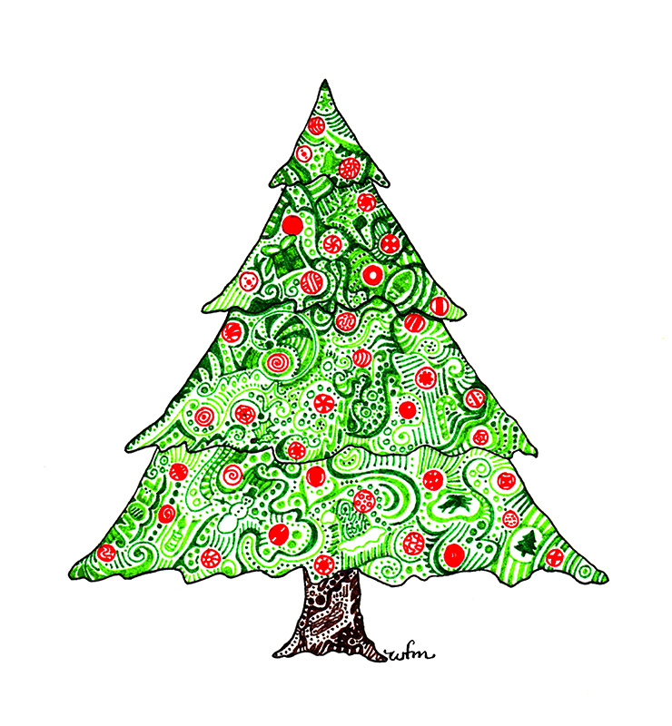 Xmas Tree by Whitney Fawn MacEachern