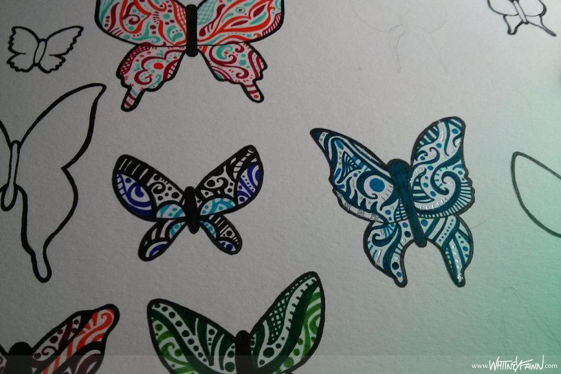 Butterflies for ProletariART - closeup