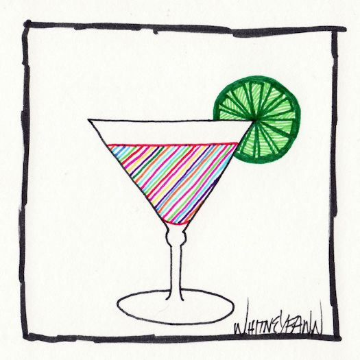 Day 19 - Psychedelic Martini