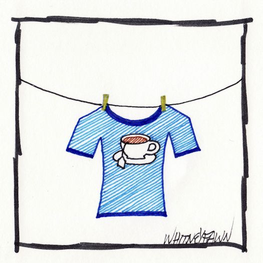 Day 21 - Tea Shirt