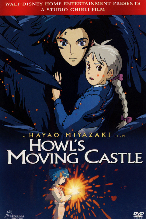 Movie poster for Howl's Moving Castle